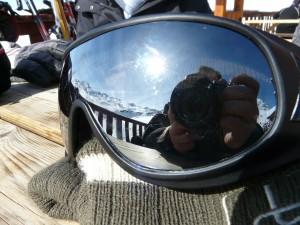 Skibrille kaufen - Helm und Skibrille in Ergänzung